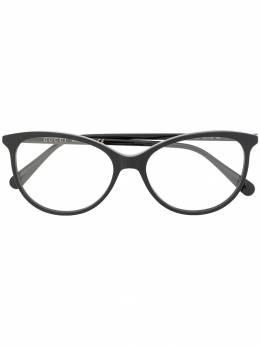 Gucci Eyewear очки в оправе 'кошачий глаз' GG0550O005