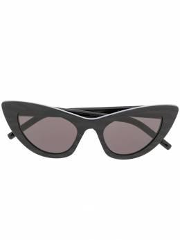 Saint Laurent Eyewear солнцезащитные очки в оправе 'кошачий глаз' SL213LILY