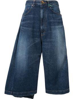 Maison Mihara Yasuhiro джинсовые шорты A03PT023