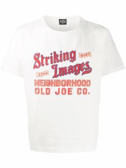 Neighborhood футболка с принтом Striking Images 182B00JNSTM01
