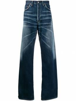 Yohji Yamamoto джинсы широкого кроя HCP15009