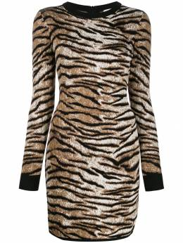 MICHAEL Michael Kors трикотажное платье с узором MF98Z4SCLS211