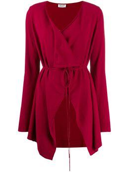 LIU JO - wrap-style cardi-coat 605MA99E955953330000