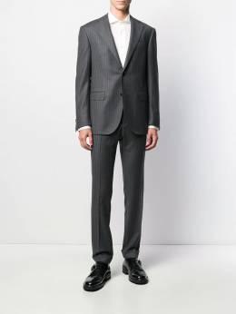 Corneliani - однотонная рубашка свободного кроя 99098990939559859900
