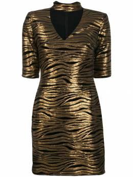 Alice + Olivia платье Inka с леопардовым принтом CC909D29530