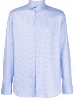 Canali - рубашка с геометричным узором 96333589558935000000