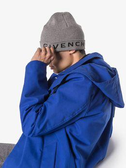 Givenchy - шапка бини с логотипом 66635Y93955838300000