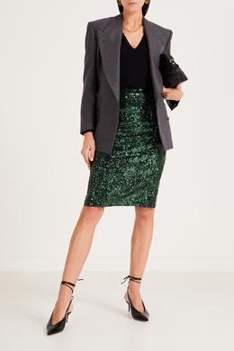 Черный пуловер из шерсти с кашемиром No. 21 35157729