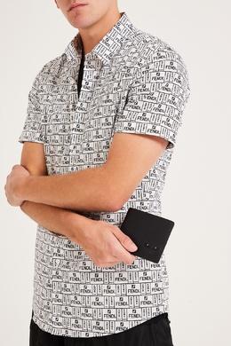 Складной кошелек черного цвета I see you Fendi 1632157900