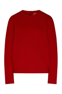 Красный джемпер с кристаллами No. 21 35157733