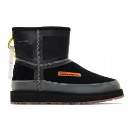 Heron Preston Black UGG Edition Urban Tech Boots HWIA010E198470141000