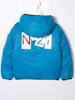 Nº21 Kids - пуховик с логотипом 50MN6669955389500000