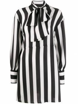 MSGM - платье-рубашка в полоску 0MDA9559958539395666