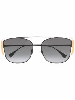 Fendi Eyewear - массивные солнцезащитные очки с логотипом FF 386GS955955990000000