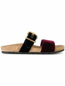 Prada - сандалии с двумя ремешками 355F6958669055039300