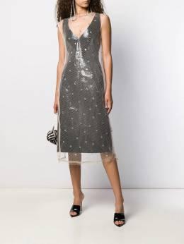 Nº21 - sheer embellished dress H9995966955839300000