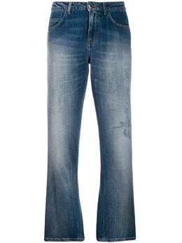 Pinko - укороченные джинсы с пайетками 6BNY5PUF959563633900