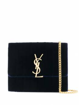 Saint Laurent - velvet finished Vicky crossbody bag 905GVOP9955956390000