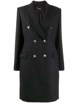 Theory - double-breasted coat 69569955993630000000