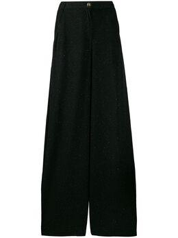 Just Cavalli - брюки широкого кроя с завышенной талией KA6003N0959895536553