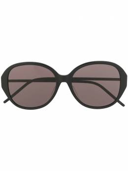 Saint Laurent Eyewear очки SL M48 в круглой оправе SLM48SBK