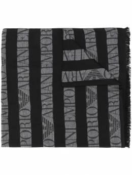 Emporio Armani - шарф в полоску 0559A356955339390000