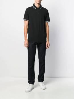 Emporio Armani - рубашка-поло с вышитым логотипом FP59JPTZ955909950000
