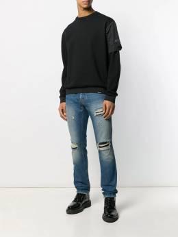 Just Cavalli - джинсы прямого кроя с эффектом потертости LA6699N3963895530659
