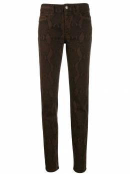 Just Cavalli - брюки кроя слим со змеиным принтом LA6959N3930095539996