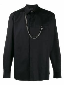 Just Cavalli - рубашка с длинными рукавами и цепочкой DL6093N3939095530639