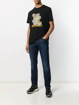 Just Cavalli - футболка с логотипом GC6559N0666395583330