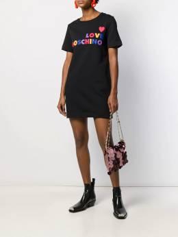 Love Moschino - logo T-shirt dress 5396M566895586959000