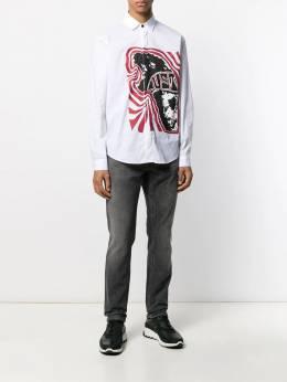 Just Cavalli - рубашка с логотипом DL6005N3896995530635