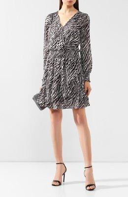 Платье с принтом MICHAEL Michael Kors MF98XEYCFH