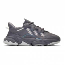 Adidas Originals Grey Ozweego Sneakers 192751F12805804GB