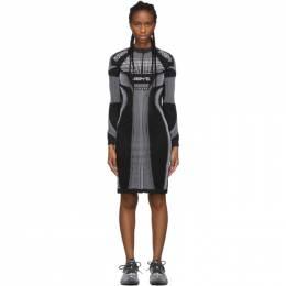 Misbhv Black and White Active Future Short Dress 192937F05200304GB