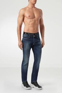 Классические синие джинсы Philipp Plein 1795138421