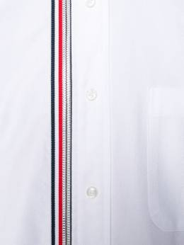 Thom Browne 4-Bar Zip-Front Oxford Shirt MWL275A03143