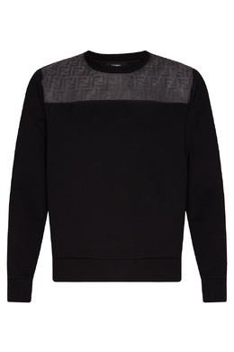 Свитшот черного цвета Fendi 1632157985