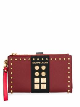 Michael Kors Collection - Adele multi-compartment studded wallet 9GJ6W5T9553509900000