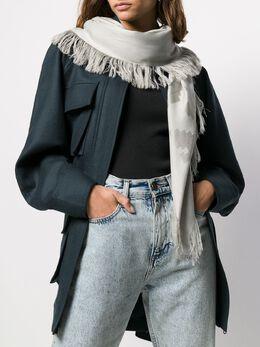 Emporio Armani - шарф с принтом логотипа 3669A306955339560000