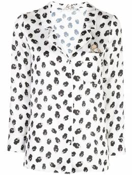 Alice+Olivia - patterned pajama-style top 96P93669955936030000