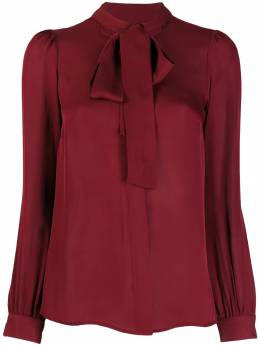 Michael Kors Collection - pussy bow blouse 5LVRB669566956900000