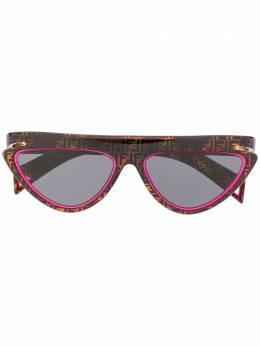 Fendi Eyewear - солнцезащитные очки FFluo в оправе 'кошачий глаз' 383S9553660500000000