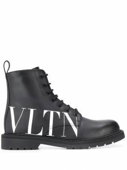 Valentino ботинки Valentino Garavani с логотипом VLTN SY0S0C70DGQ