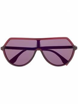Fendi Eyewear - FF oversized-frame sunglasses 333S9566336600000000