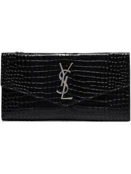 Saint Laurent - crocodile effect logo wallet 905DND9N956839000000