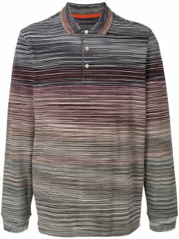 Missoni - рубашка-поло в стиле колор-блок 66665BJ6695955366950
