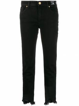 VERSACE JEANS - frayed skinny jeans TB6SDALL0S9566696800