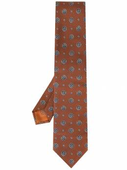 Brioni - галстук с принтом D66O856D955555630000